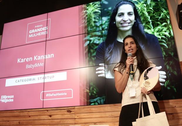 Karen Kanaan, cofundadora do Baby&Me  (Foto: Keiny Andrade)