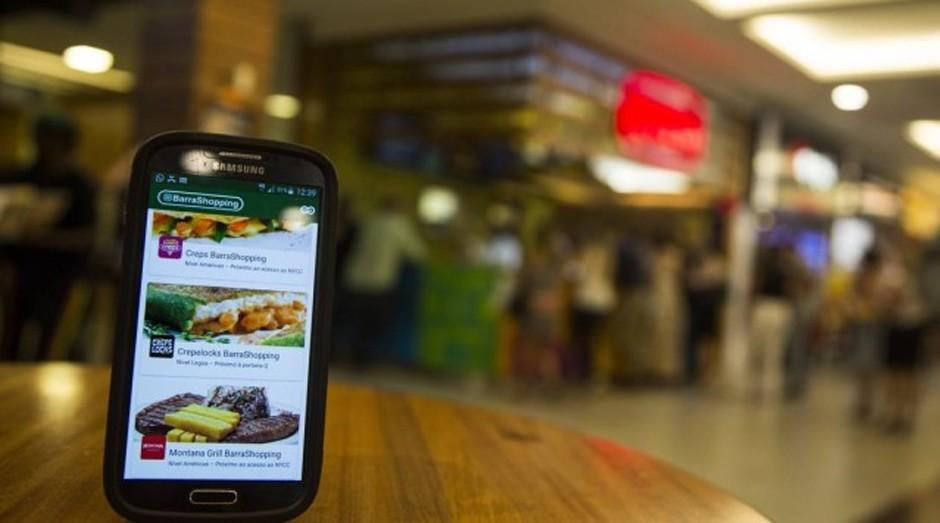 """Mais rápido. Praça de alimentação do BarraShopping: """"app"""" garante pedido de refeições com horário de retirada no balcão"""" (Foto:  Barbara Lopes / Agência O Globo)"""