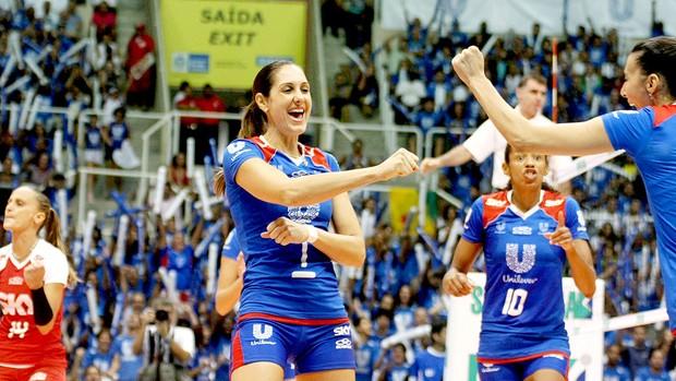 Fernanda Venturini Rio de Janeiro vôlei Superliga  (Foto: Divulgação)