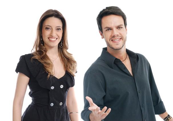 Vinicius Valverde e Ana Paula Torquetti vão dar um 'up' na sua madrugada (Foto: Divulgação/ TV Vanguarda)