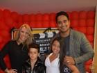Carla Perez e Xanddy comemoram aniversário dos filhos em Salvador