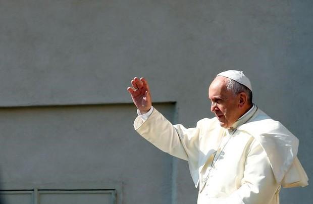 Papa Francisco durante evento no Vaticano (Foto: Tony Gentile/Reuters)