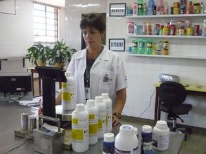 Em Rio Preto (SP) foram verificados 10 lotes de fertilizantes pela cidade.  (Foto: Divulgação/ Ipem)