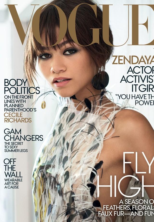 Zendaya estrela capa (e recheio) da Vogue América de julho