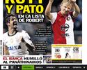 Jornal: cotado em lista do Barça, Pato pode ser preterido por veterano Kuyt