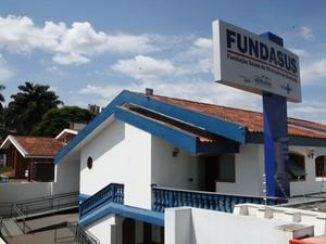 Prédio da Fundasus em Uberlândia (Foto: Daniel Nunes/PMU/Secom)