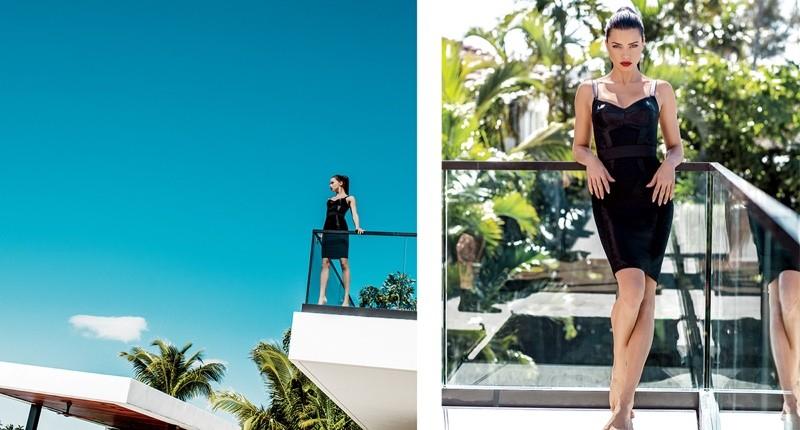 Adriana Lima mostra sua beleza em ensaio sexy by Russell James (Foto: Divulgação)