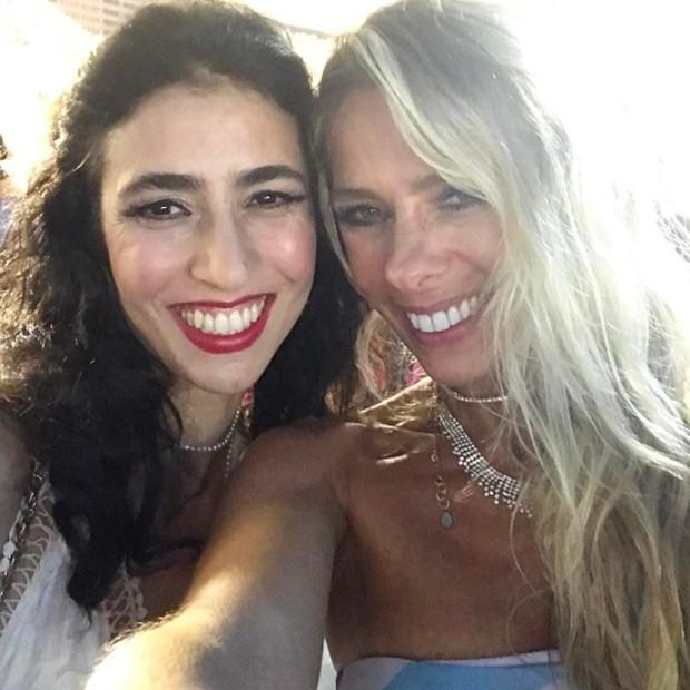 Marisa Monte e Adriane Galisteu (Foto: Reprodução/Instagram)