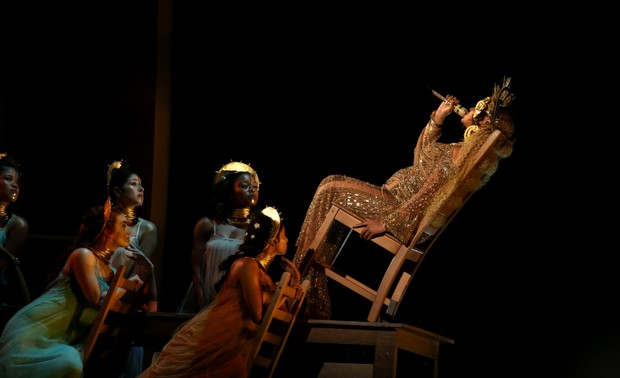 Beyoncé no Grammy (Foto: Reuters agência)