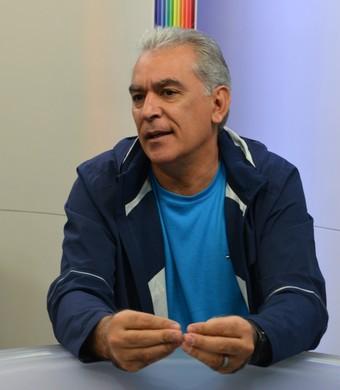 Luiz Zanon técnico (Foto: Felipe Kyoshy/GloboEsporte.com)