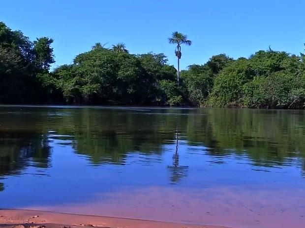Ela se afogou no Rio Sepotuba neste domingo (Foto: Reprodução/ TVCA)