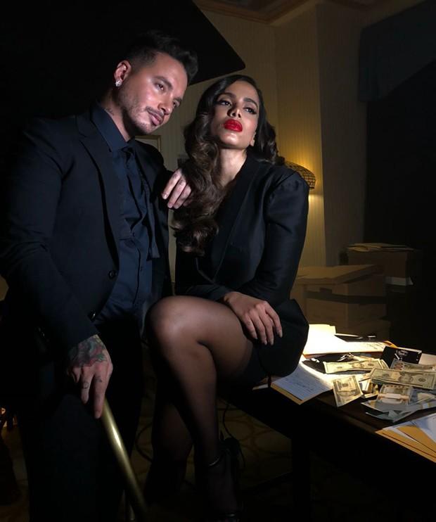 Jbalvin e Anitta (Foto: Divulgação)
