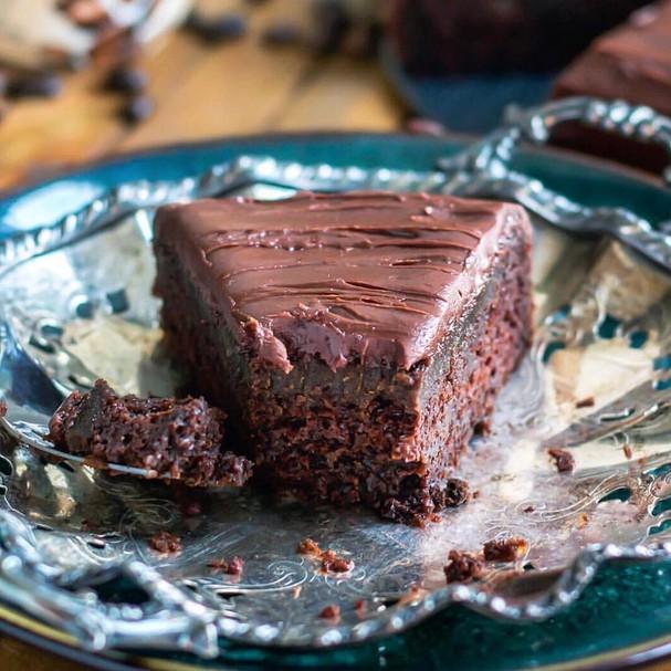 Bolo de chocolate (Foto: Instagram/Reprodução)
