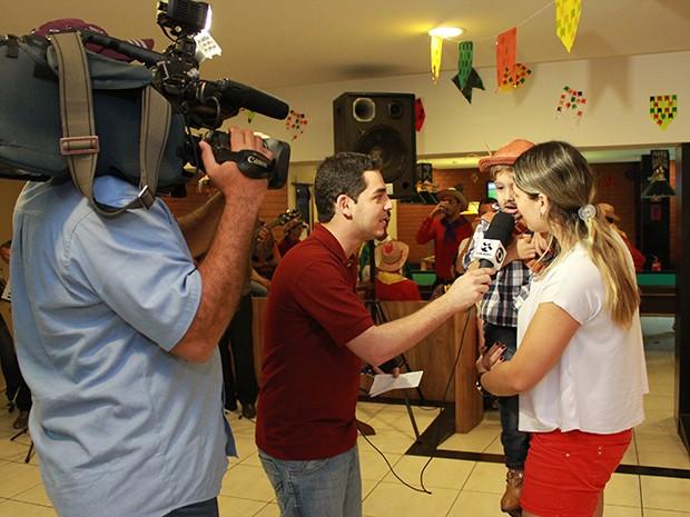 Arraialzinho Asa Branca promete animar a criançada no fim de semana (Foto: Marketing / TV Asa Branca)