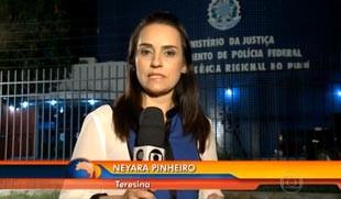 Neyara Pinheiro, do Piauí, para o Bom Dia Brasil (Foto: reprodução/ TV Clube)