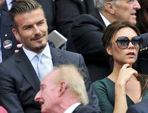 David Victoria Beckham tênis Wimbledon final (Foto: Reuters)