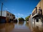 Rio na Argentina para de subir, mas Paraguai segue em emergência