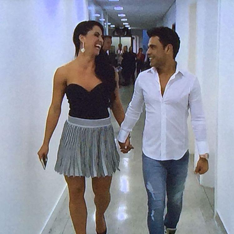 Graciele e Zezé (Foto: Reprodução/Instagram)