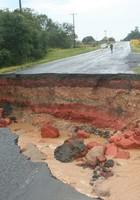 40 rodovias  têm trechos interditados (Marcelo Martiniaki/VC no G1)