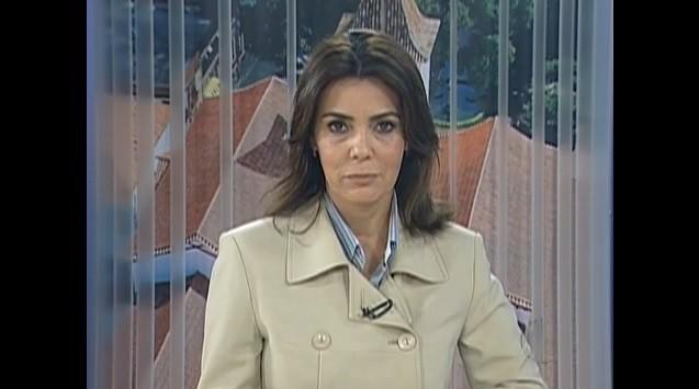 Marilucy Cardoso, apresentadora do Diário 2ª Edição  (Foto: Reprodução / TV Diário)