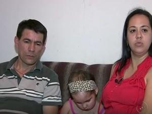 Família chegou a ir aos Estados Unidos para Gaby ser consultada (Foto: Reprodução/TV TEM)