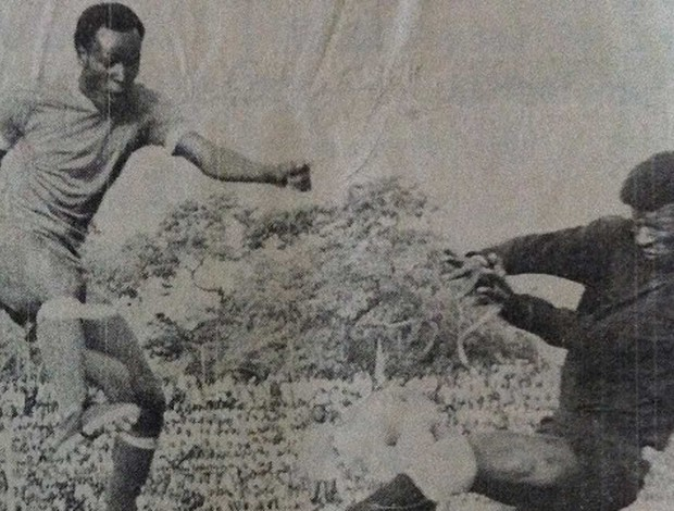 Godfrey Chitalu, da Zâmbia (Foto: Zambian Football)