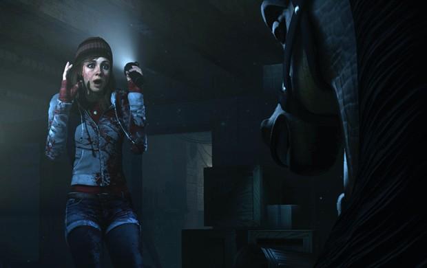Ashley é uma das oito personagens de 'Until Dawn', game de terror do PlayStation 4 (Foto: Divulgação/Sony)