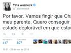 Tatá Werneck lamenta morte de Roberto Bolaños