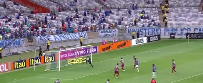 Cruzeiro x Fluminense (Foto: Reprodução)