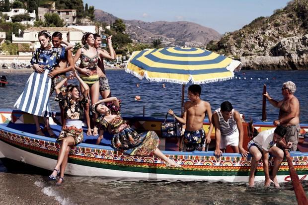 Campanha Dolce&Gabbana, verão 2013 (Foto: Reprodução)