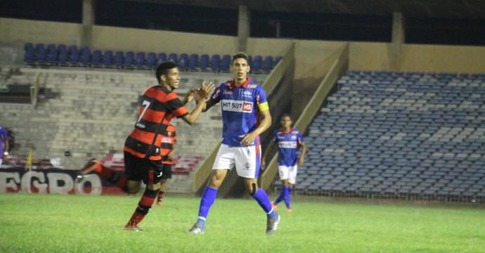 Piauí x Flamengo-PI na Copa Piauí (Foto: Emanuele Madeira)