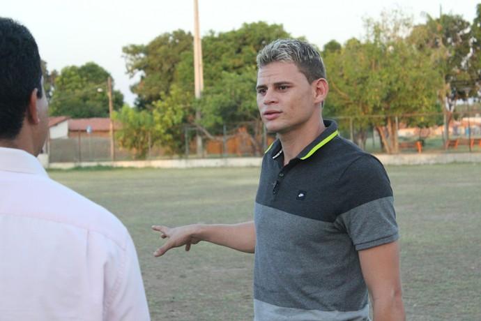 Jonas Corinthians em Teresina 2014 (Foto: Renan Morais/GloboEsporte.com)
