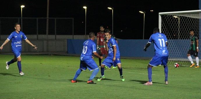Nacional e Manaus Campeonato Amazonense (Foto: Marcos Dantas)