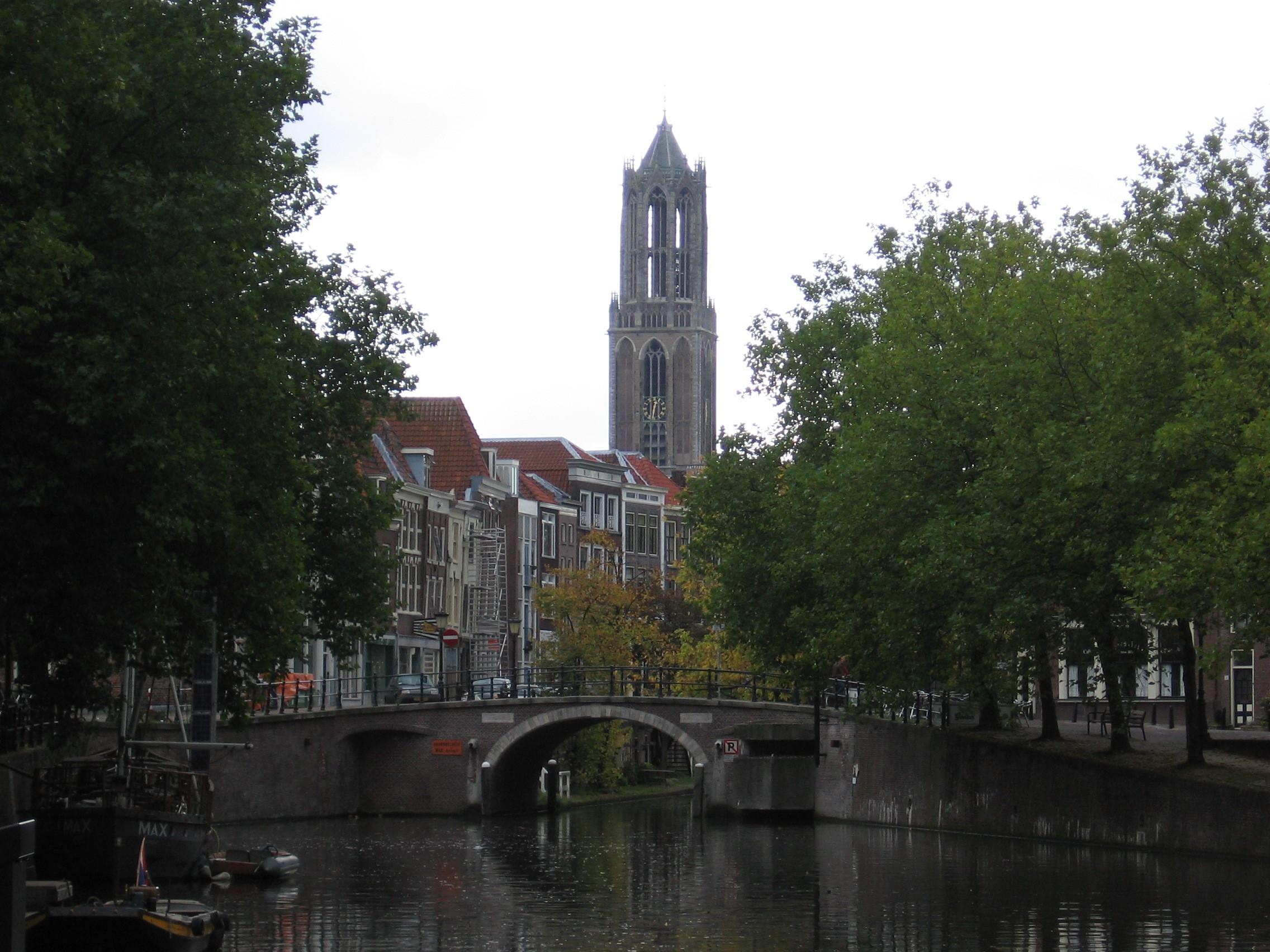 a cidade de utrecht (Foto: wikimedia commons)