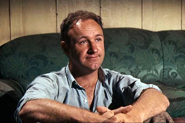 Gene Hackman como Buck Barrow em 'Bonnie e Clyde - Uma Rajada de Balas' (1967)  (Foto: Reprodução)