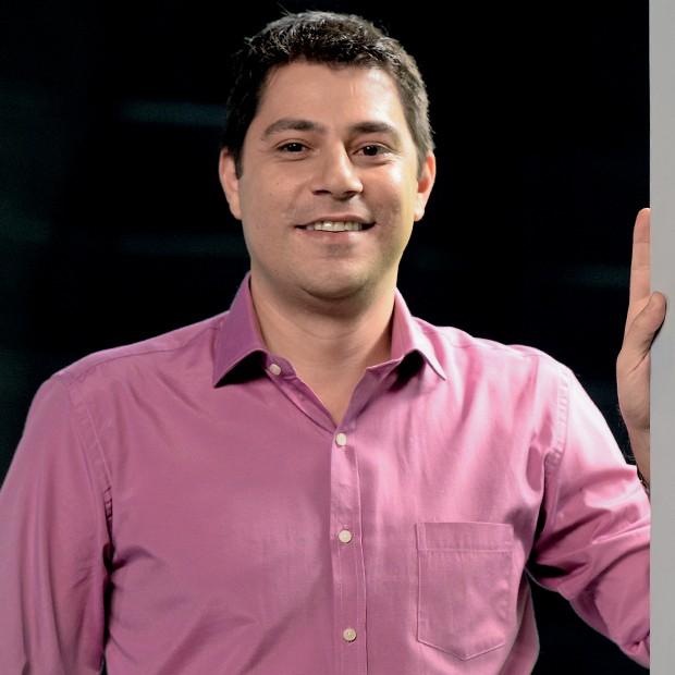 Evaristo Costa (Foto: Zé Paulo Cardeal / TV Globo)