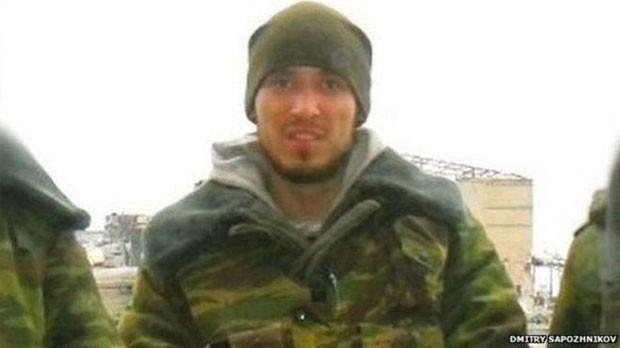 """Dmitry Sapozhnikov juntou-se às forças rebeldes """"República Popular de Donetsk (DPR)"""" em outubro do ano passado  (Foto: Dmitry Sapozhnikov/BBC)"""