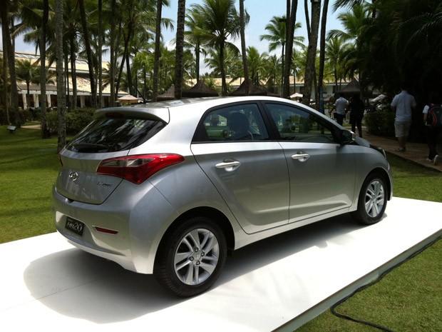 Lojas exclusivas venderão o Hyundai HB20 (Foto: Luciana Oliveira/G1)