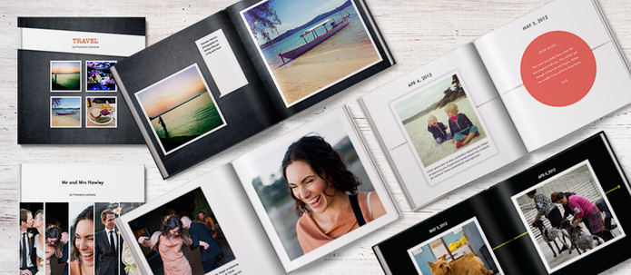 Crie livros, cadernos e revistas com fotos do seu Instagram (Foto: Divulgação/Blurb)