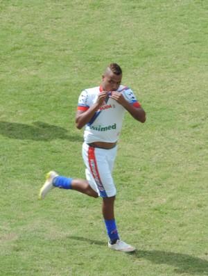 Du atacante Grêmio Prudente (Foto: Ronaldo Nascimento / GloboEsporte.com)