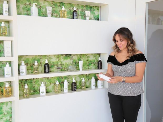 Empresária lançou produtos em 400 drogarias e gostou do resultado (Foto: Viola Júnior)