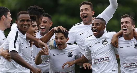 quem não chora... (Ricardo Saibun/Santos FC)