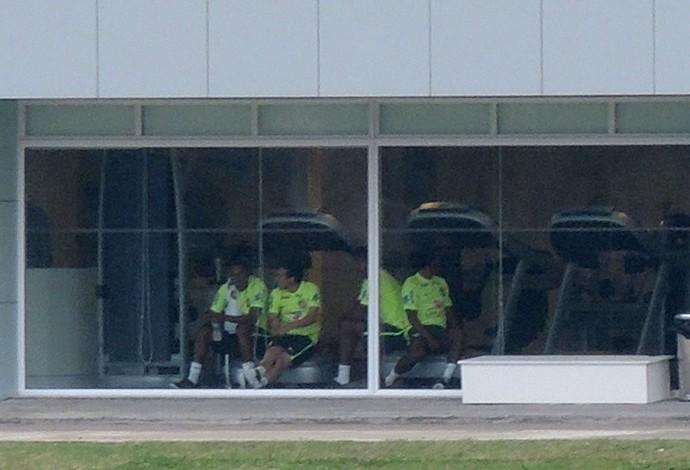 Treino Seleção Brasileira  (Foto: Leandro Canônico )