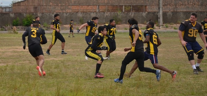 Futebol Americano Roraima (Foto: Nailson Wapichana)