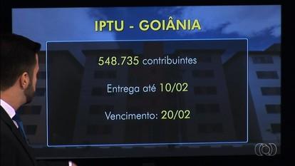 Carnês do IPTU passam a ser enviados por Correios, em Goiânia