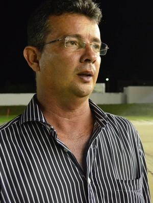 Tassiano Gadelha, técnico do Atlético-PB (Foto: Larissa Keren / GloboEsporte.com/pb)