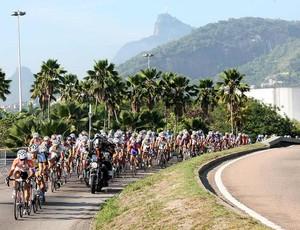 Percurso Copa América de ciclismo no Rio Chamorro camepão (Foto: Marcio Kato /MBraga Comunicação)