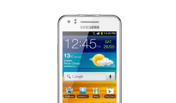 Samsung Galaxy Beam vem com display de 4 polegadas com resolução inferior (Foto: Divulgação/Samsung)