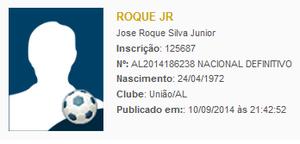 Roque Jr. é superintendete da federação (Foto: Reprodução CBF)