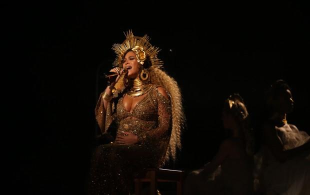 Beyoncé no Grammy (Foto: Reuters)